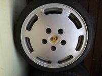 Porsche 928 alloy wheels with tyres g60 vr6 sti Ford