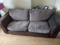 2 Piece Sofa Armchair And Two Seater Setee 80
