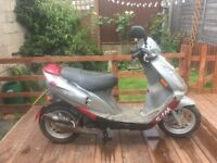 Cheap learner 50cc scooter