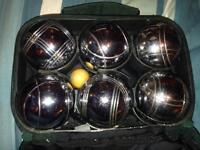 Full set of Boule or Petanque
