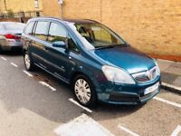 S-AUTOMATIC VAUXHALL ZAFIRA 1.8 i 16v LIFE Easytronic 5dr# AC#12 MONTHS MOT# AUTOMATIC 7 SEATERS