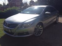2011 Volkswagen Passat CC 2.0 TDI GT 170 BHP FULLY LOADED 123000 miles, One Company Owner from new