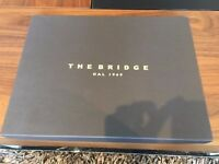 Leather Notepad Holder The Bridge - NEVER USED