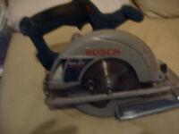 BOSCH 24 volt circular saw-body only