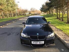 2007 BMW 320D M SPORT E90 IN BLACK