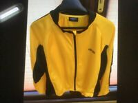 Ferocious mans lightweight cycling jacket medium- large fully. Windproof .easy care wash.