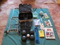 bowls and set of complete bowls equipment