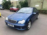 MERCEDES C240 AVANTGARDE 170BHP AUTOMATIC V6 WITH FULL SERVICE HISTROY LOW MILE 64K