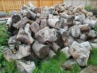 Firewood bulk load of hardwood