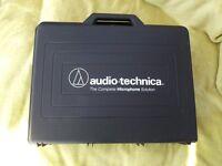 AUDIO-TECHNICA COMPLETE MICROPHONE SOLUTION