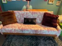 Mid Century Daybed/ Sofa bed