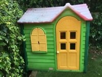 Little Tikes Playhouse - sun faded but still works perfectly!