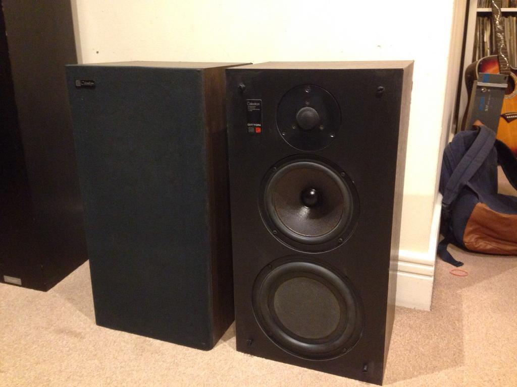 Celestion Ditton 150 Bookshelf Speakers With HF 1001 Tweeters