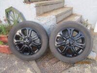 4 alloy van wheels of fiat talento,will fit nissan;vauxhall, 215/60/r17