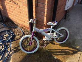 "14"" girls bike Very good condition 1yr old used a handful of times"