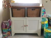 John Lewis changing table with changing mat