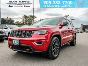 2018 Jeep Grand Cherokee TRAILHAWK 4X4, BLIND SPOT MONITOR, SUNR
