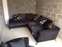 Csl corner sofa and snuggle chair