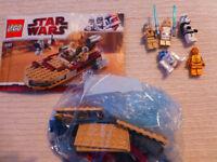 Lego starwars 8092 Luke's Landspeeder 100% complete