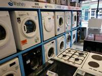 Washing Machine Tumble Dryer Vented or Condenser Gas Electric Cooker
