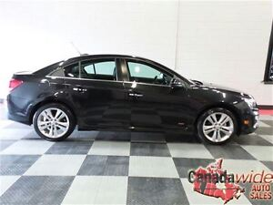 2015 Chevrolet Cruze LTZ,RS,LEATHER,SUNROOF,TURBO,WI FI 1 OWNER