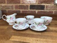Duchess bone China vintage tea set