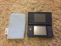 Nintendo ds lite (dark blue)