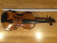A German violin by Bruno Franz Paulus, Mittenwald.