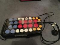 Babyliss Pro heated rollers - used once