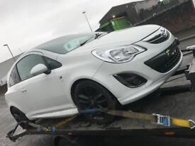 Breaking Vauxhall corsa limited edition