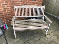 Free outside bench