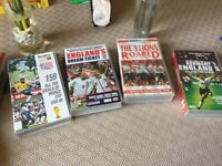 Four Football Videos For Sale
