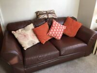 Quality Leather Sofa for SALE - BARGAIN!