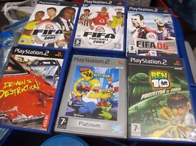 PREOWNED PS2 GAMES £2 + £5 EACH