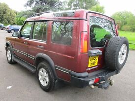 2003 53 LAND ROVER DISCOVERY 2.5 TD5 GS 4X4 7 SEATER FULL HISTORY LONG MOT 02/2018 TOW BAR PX SWAPS