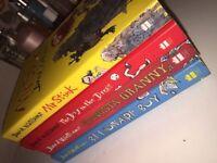 4 David Walliams book set