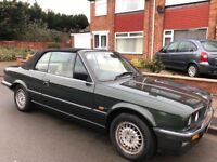BMW 3 Series 2.5 325i 2dr 1989 (G reg), - E30 - rare classic car