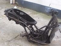piaggio beverly b125 2002 frame replacement part