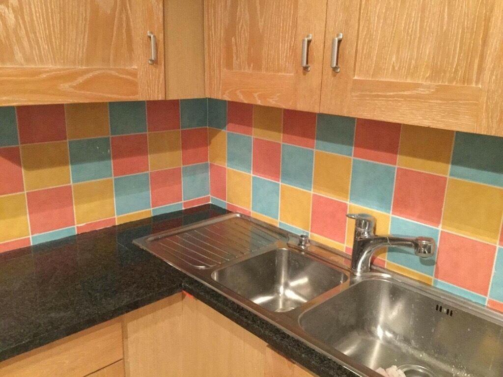"Kitchen Tiles Gumtree harlequin' ceramic wall tiles 6"" square | in pontprennau, cardiff"