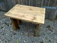 Side table - rustic