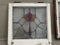 Authentic 1930s Stained Glass Panels