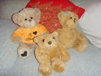 JOB LOT 3 TEDDIES - £1 FOR THE 3