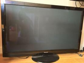 Panasonic 50 inch TV P50G20B with WiFi accessory