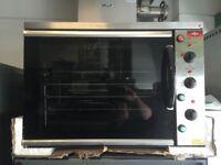 CATERING COMMERCIAL KITCHEN NEW CONVECTION FAN OVEN FAST FOOD BAKERY PATISSERIE BBQ RESTAURANT BAR
