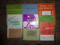 Recorder books, 9
