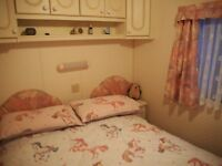 Static caravan holiday home for sale. Willerby Leven 2 bedroomed