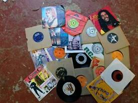 Selectiin of 45's records lps