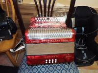A Horner Black Dot BC Tunning in Great Condtion! accordion