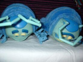 DISNEY Bug's Life Tuck & Roll Large Interactive Talking Plush Toys