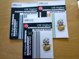 Cfe Business Management study books